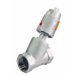 XY Electron Pneumatische stoomventiel RVS 316