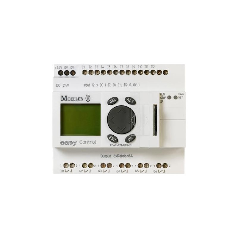 EC4P-221-MTXD1 Logic module EC4P,8TQ,M.DIS