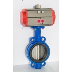 XY Electron Vlinderklep RVS 304