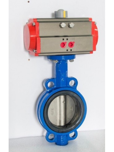 XY Electron Butterfly Valve SS 304